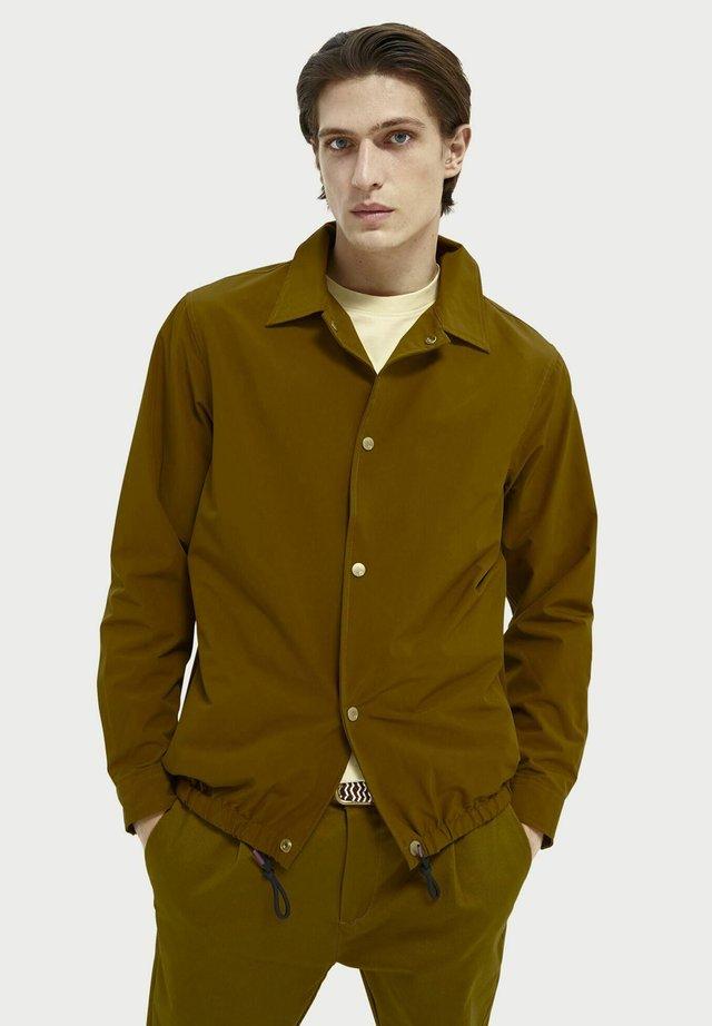 Light jacket - nutmeg