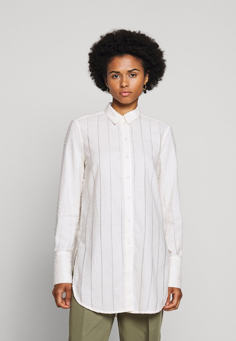 By Malene Birger - COLOGNE - Button-down blouse - cream snow