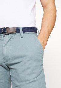 s.Oliver - BERMUDA WITH BELT - Shorts - light blue - 4