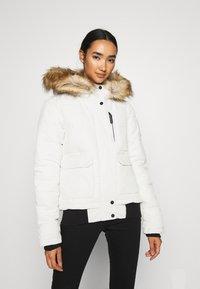 Superdry - EVEREST - Winter jacket - ecru - 0