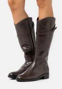 Högl - Vysoká obuv - nougat - 0