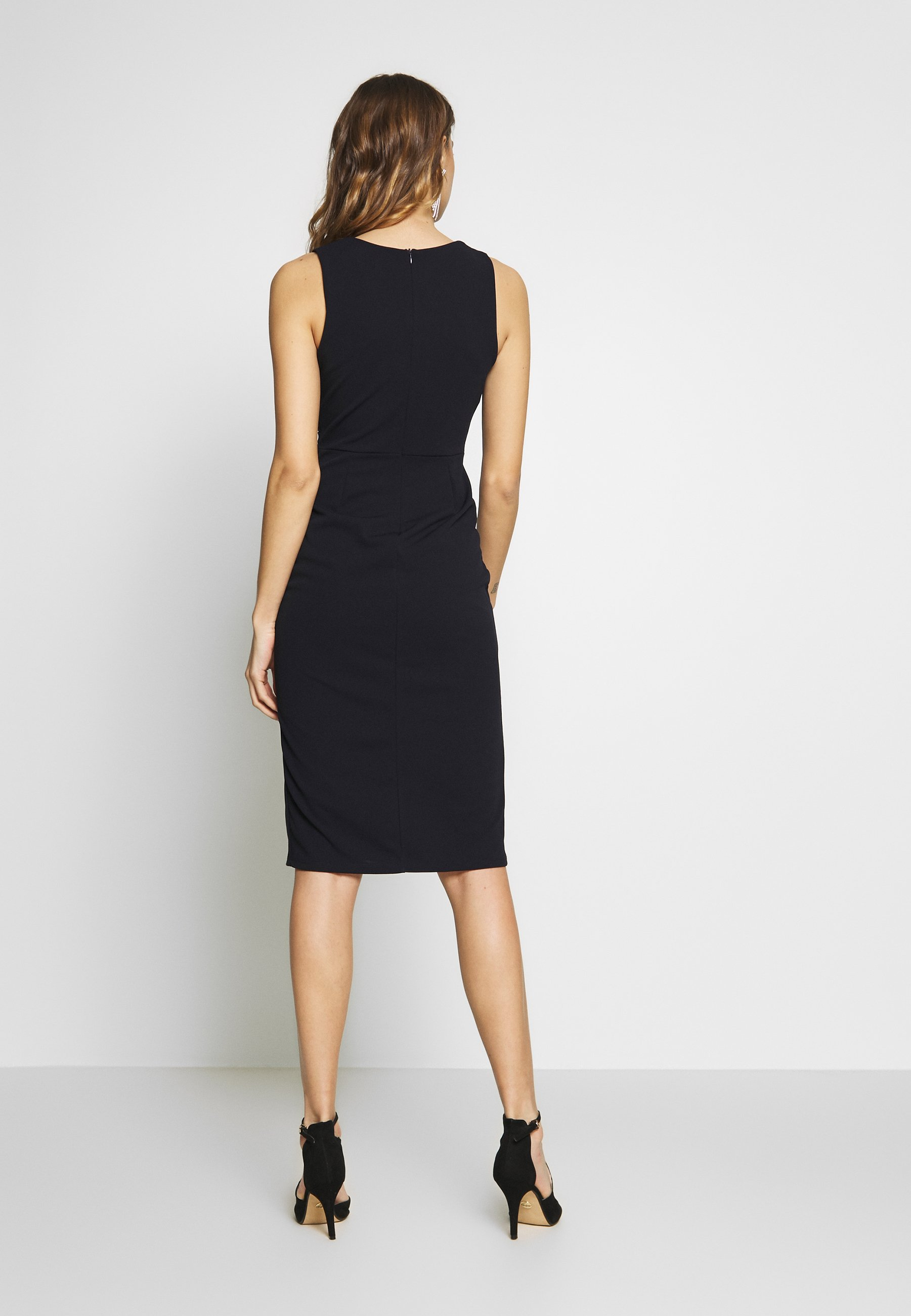 WAL G. MIDI FITTED DRESS Cocktailkleid/festliches Kleid navy/dunkelblau