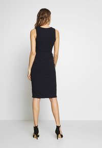 WAL G. - MIDI FITTED DRESS - Cocktailkjole - navy - 2