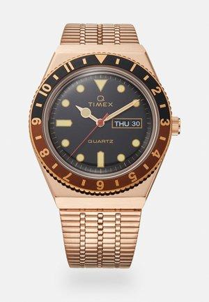 Q DIVER UNISEX - Orologio - rose-gold-coloured/black