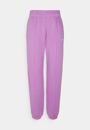 Tracksuit bottoms - violet shock/white