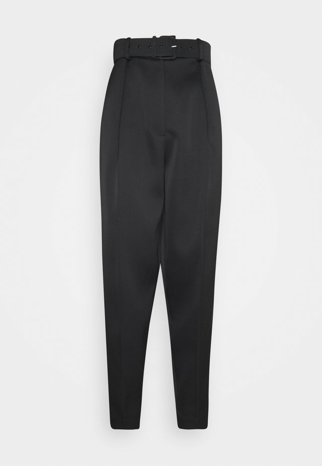 SUSICRAS PANTS - Bukser - black