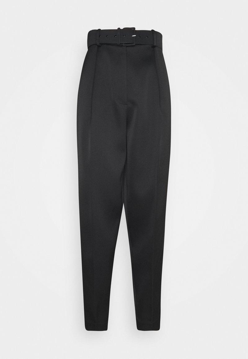 Cras - SUSICRAS PANTS - Spodnie materiałowe - black