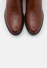 Caprice - Boots - cognac/ocean - 5