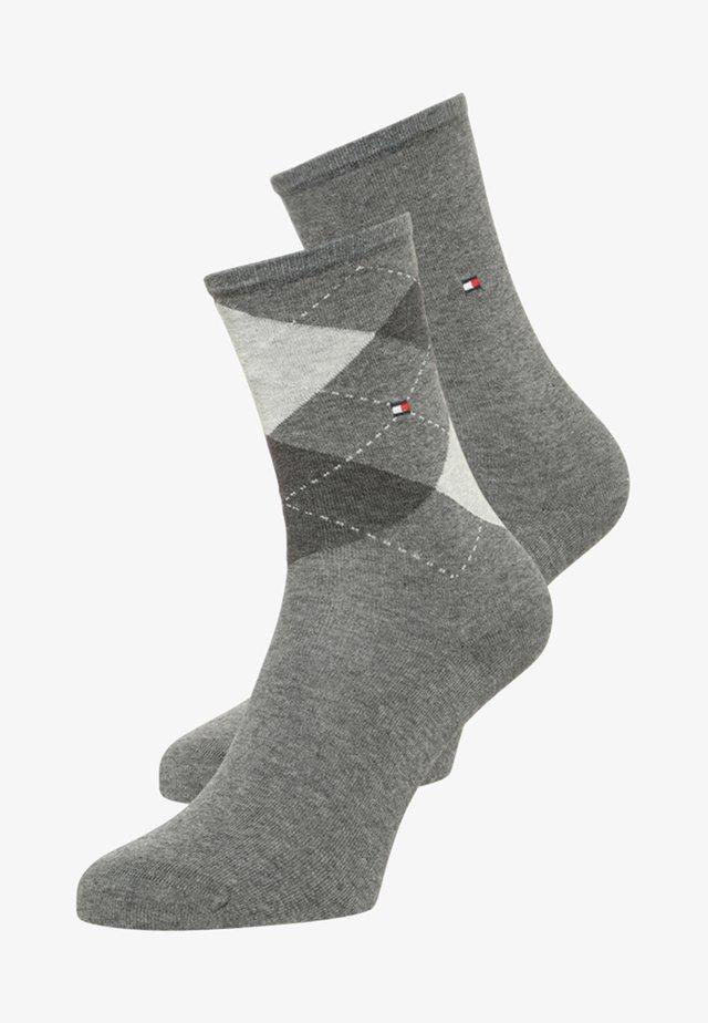 2 PACK - Socks - middle grey
