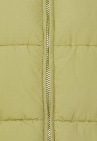 Monki - LACY VEST - Vest - khaki green dusty light - 2