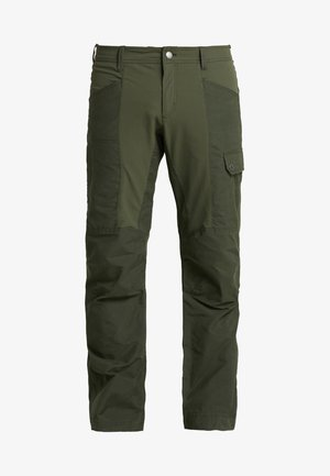 DAWSON FLEX PANTS - Cargo trousers - dark moss