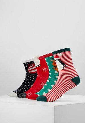 VMFROSTY SOCKS GIFTBOX 4 PACK - Ponožky - multi-coloured