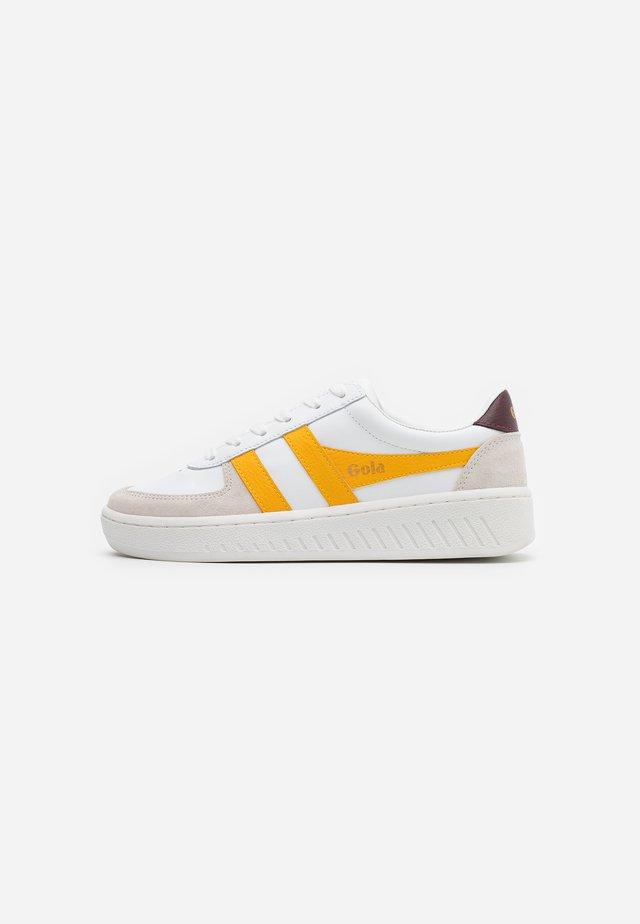 GRANDSLAM CLASSIC - Sneakers laag - white/sun/burgundy