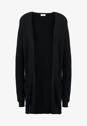 VIRIL OPEN CARDIGAN - Strickjacke - black