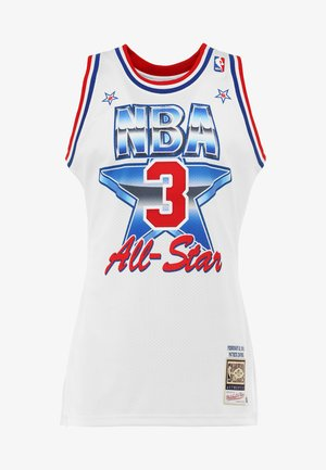 NBA ALL STAR EAST 1991 PATRICK EWING AUTHENTIC  - Club wear - white