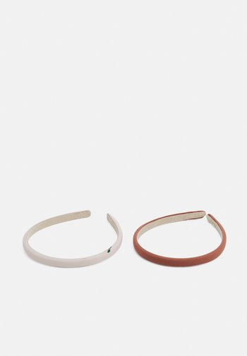 HAIRBRACE 2 PACK - Hair styling accessory - light pink/white