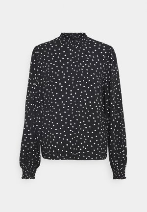 Printed Long sleeves Blouse - Blouse - black/white