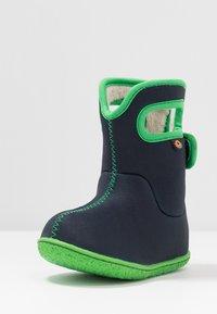 Bogs - BABY SOLID - Zimní obuv - navy - 3