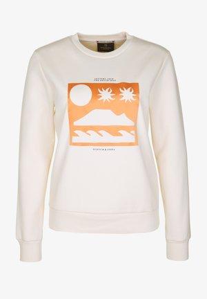 ARTWORKS - Sweatshirt - creme