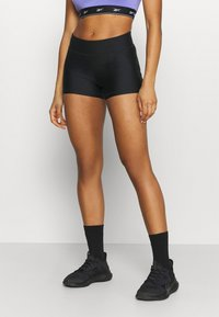 Under Armour - MID RISE SHORTY - Tights - black - 0