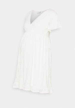 NURSING DRESS - Jersey dress - snow white