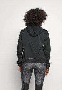 Nike Performance - Sports jacket - black/silver - 2
