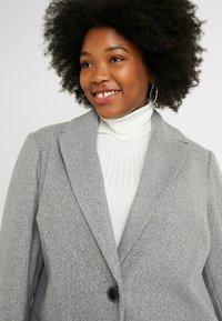 Dorothy Perkins Curve - MINIMAL LINED - Krátký kabát - grey marl - 3