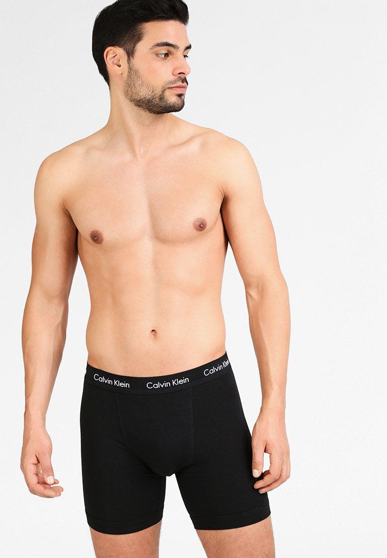Calvin Klein Underwear BRIEF 3 PACK - Underbukse - black