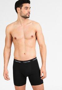 Calvin Klein Underwear - BOXER BRIEF 3 PACK - Boxerky - black - 1