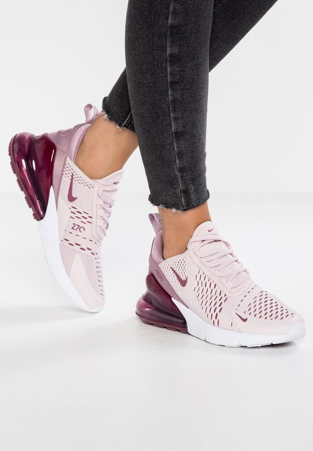 AIR MAX 270 - Sneakersy niskie - barely rose/vintage wine/rose white