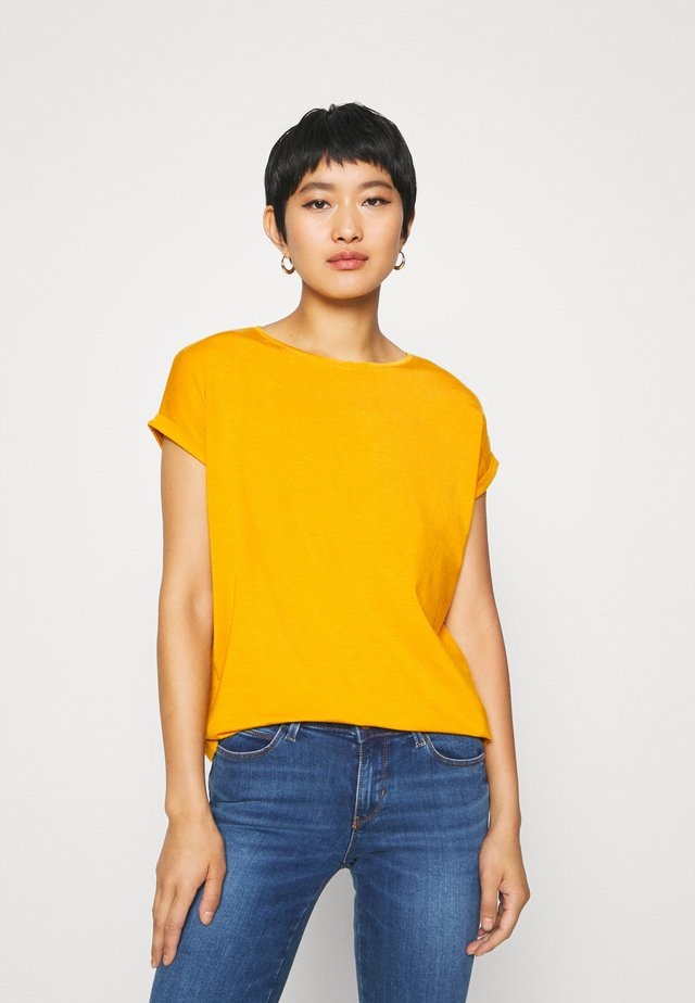 KURZARM - T-shirts basic - golden yellow