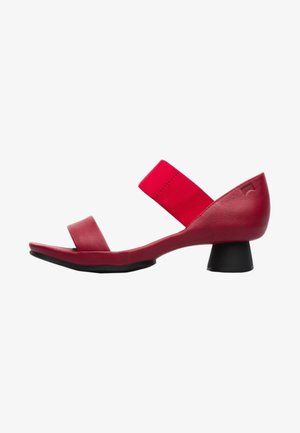 ALRIGHT - Sandaalit nilkkaremmillä - red