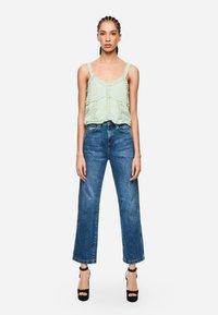 Pepe Jeans - DUA LIPA X PEPE JEANS  - Jeansy Straight Leg - blue denim - 1