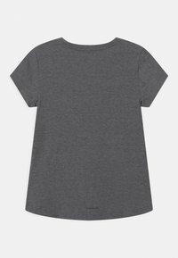 adidas Performance - LOGO UNISEX - Print T-shirt - black/white - 1