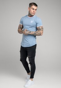 SIKSILK - DISTRESSED PATCH - Jeans Skinny Fit - washed black - 1