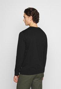 Burton Menswear London - 2 PACK CREW  - Mikina - black - 2