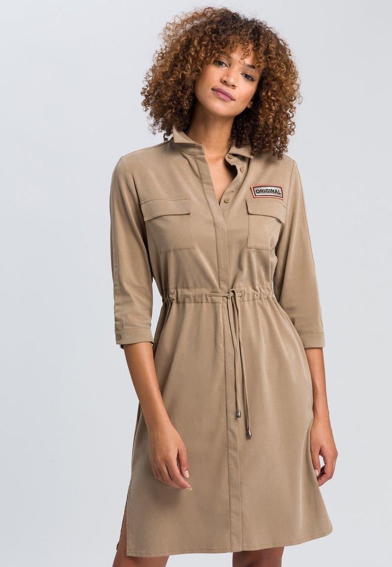 Marc Aurel - Shirt dress - taupe