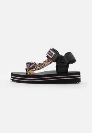 Platform sandals - multicolor