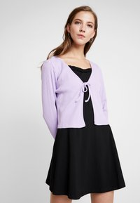 Monki - MATHILDA CARDIGAN - Cardigan - purple - 0