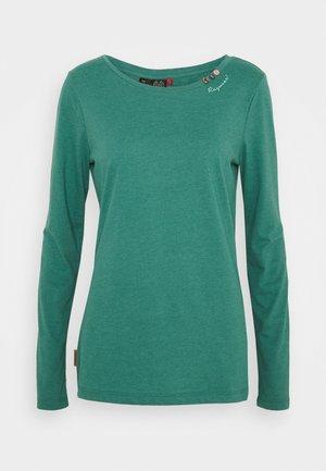 FLORAH LONG - Long sleeved top - dusty green