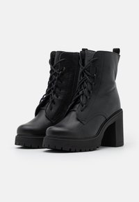 Zign - High heeled ankle boots - black - 2