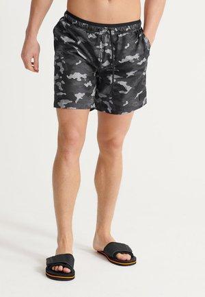 SURPLUS - Swimming shorts - black camo