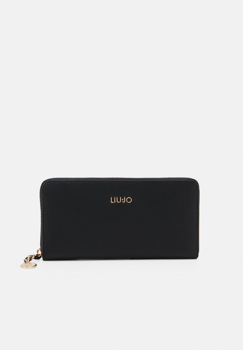 LIU JO - XL ZIP AROUND - Lommebok - nero