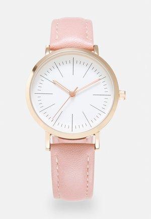 Klokke - pink