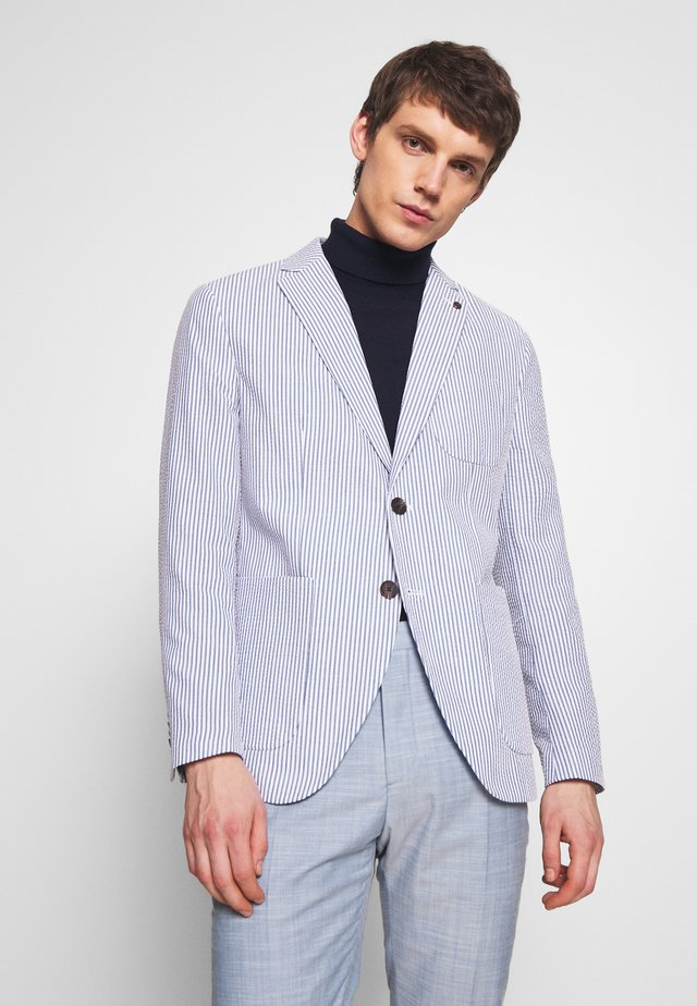 JPRBLAKAYDEN SLIM FIT - Blazer - light blue