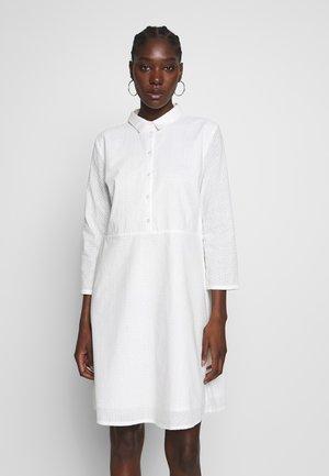 BRIANNE DRESS - Vestido camisero - off white