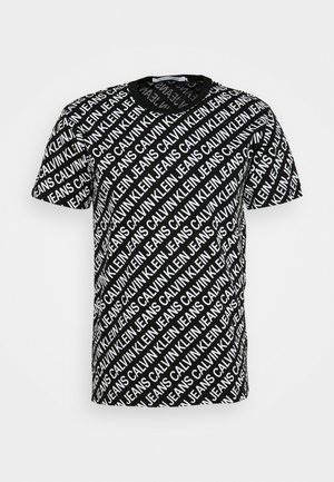 DIAGONAL TEE - T-shirt print - black