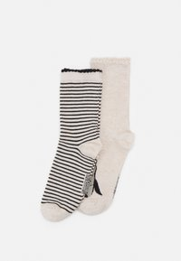 Hunkemöller - CHRISTMAS PENGUIN SOCKS 2 PACK - Socks - white - 0