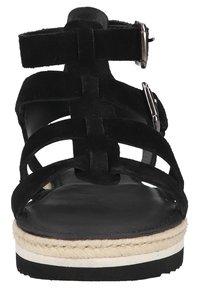 Sansibar Shoes - Sandalen met plateauzool - schwarz - 4