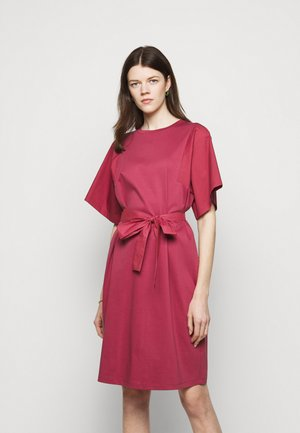 LARI - Jersey dress - dunkelmauve